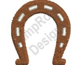 Horseshoe - Machine Embroidery Design