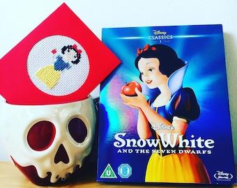 Snow White Cross Stitch Card