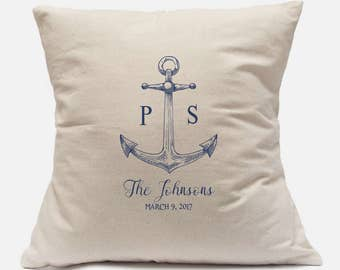 50th Wedding Anniversary Gift For Husband Gift Personalized Pillow Case 100% Cotton Canvas Customize with your information 14x14 and 18x18
