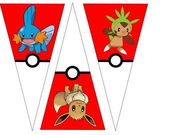 Pokemon Character Banner