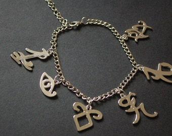 Mortal Instrument Shadowhunter runes bracelet