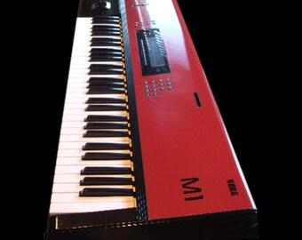 Korg M1 Custom Vinyl Wrap Made To Measure In Any Design