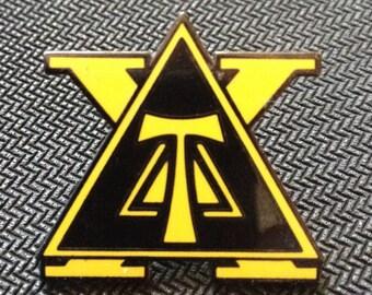 Delta Tau Chi Pledge Pin