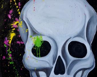 skull and crossbones | Scull, art print, print, print