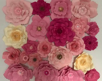paper flowers for wedding ,birthday party o any backdrops