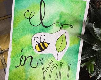 I Bee Leaf (Believe) in you
