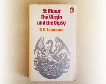 DH Lawrence - St Mawr, The Virgin and the Gypsy - Penguin vintage paperback book - 1972