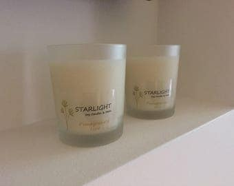 Scented Soy Wax Candle in Glass Jar Any Fragrance