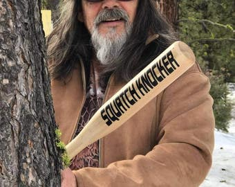 SQUATCH KNOCKER The Original Bigfoot Tree Knocker