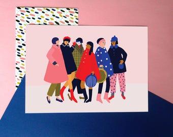 Girls- Printed A5 artwork