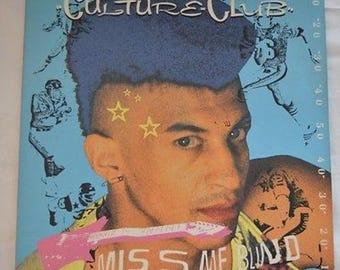 "Culture Club Miss Me Blind 12"" Single 1984 Virgin Vinyl Record"