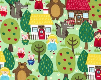 Into the forest fabric -Michael Miller Forest -woodland fabric-fantasy forest -Michael Miller fabric -quilting cotton -forest cotton fabric