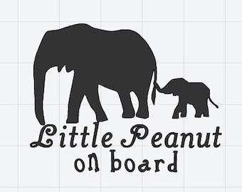 Little Peanut on board
