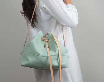 bucket bag This Is A Spring Thing / green pastel