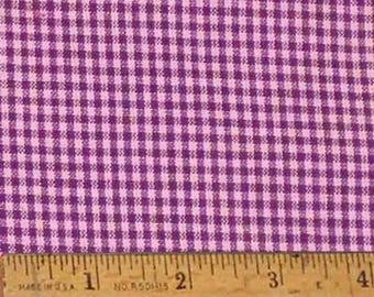 "Purple 2 Homespun Fabric (Full Yard 36"" x 44"")"