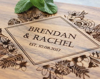 Personalized Cutting Board - Engraved Cutting Board, Custom Cutting Board, Wedding Gift, Housewarming Gift, Anniversary Gift, Engagement #2