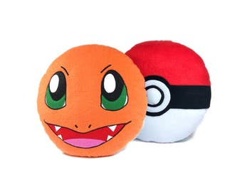 Pokemon pillow Charmander | Cute Charmander toy | Pokemon toy-pillow - SoftDecor
