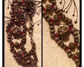 Beaceler beads in bronze.