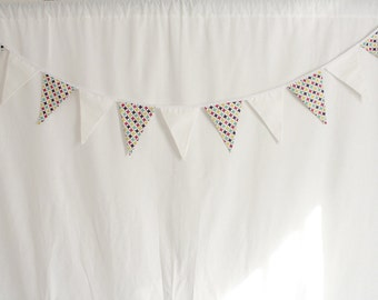 Garland flags patterned