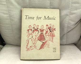 Time for Music vintage songbook.