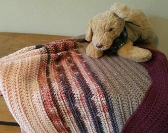 Baby blanket, crochet