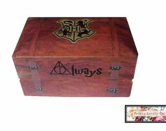 Premium Harry Potter Inspired Double Wedding Ring Box
