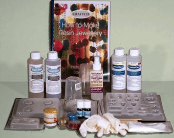 How to Make Resin Jewellery Kit