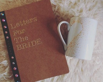 Letters To the bride book. Hen Do present idea!