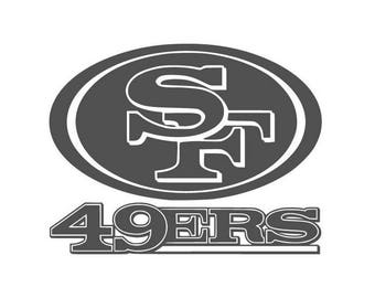 San francisco 49ers sticker | Etsy