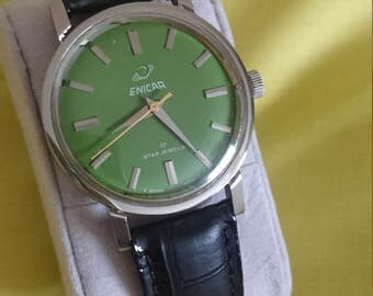 Vintage Swiss made Enicar Watch