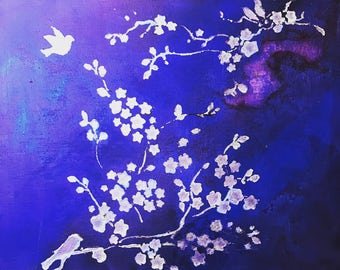 Cherry Blossom Canvas
