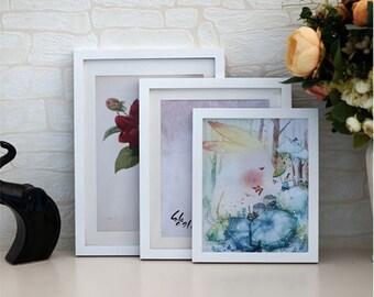 picture frame,5x3.5 photo frame, 6x4 photo frame, 7x5 photo frame, 8x6 photo frame, wood photo frame