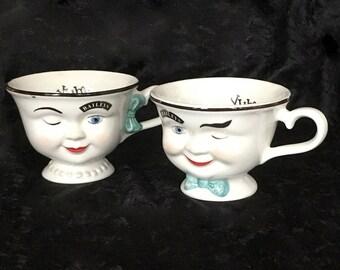 Baileys Irish Cream Winking Cups, 1996 Limited Edition Mugs