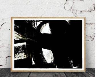 Art abstrait mural, Printable Wall Art, peinture abstraite, impression d'Art abstrait, Pastel, Fine Art Print