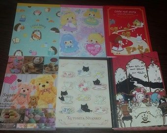 Kawaii Loose Memo Sheets Grab Bag - 25