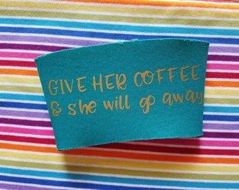 Reusable Coffee Sleeve - Cup Sleeve - Coffee Sleeve - Gilmore Girls