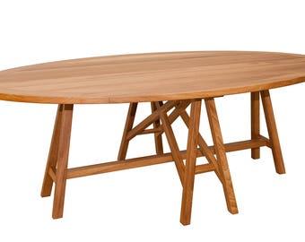 Table 240 x 130 elliptical