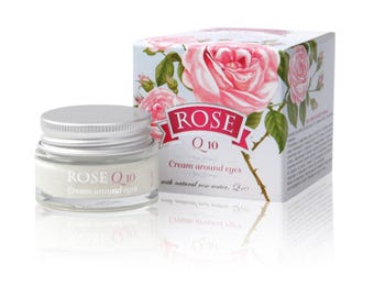 "Eye Cream ""ROSE"" with Q 10 and avocado oil  15 ml, BULGARIAN ROSE"