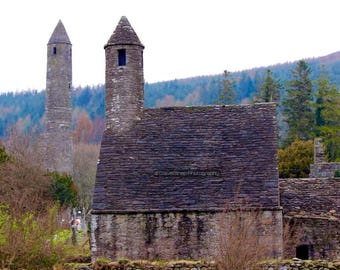 Glendalough, Co. Wicklow, Ireland.