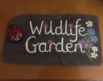 Wildlife Garden Slate