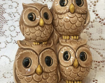 Decorative Vintage Owl Statue