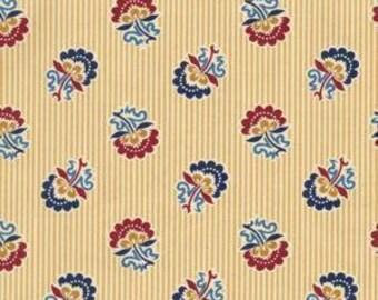 Andover Fabrics Banner Day Jo Morton 4222 Y-- 1/2 yard increments