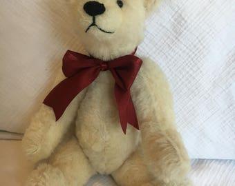 Mohair Handmade Harry Bear