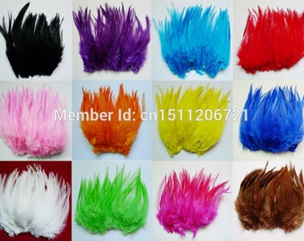 Cute Little Fairy Rooster Feathers, many colours available