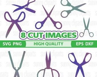 Hairdresser Svg, Scissors Svg, Hairdresser Decal, Svg File For Cricut, Digital Cut Files, Svg Bundle, Cuttable Svg, Svg Silhouette, Png File