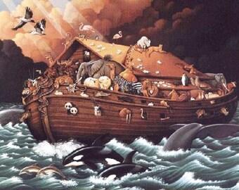 Noahs Ark Cross Stitch Pattern***LOOK***