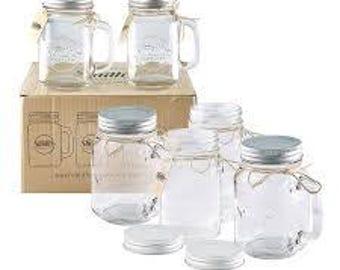 Mason Jar Salt and Pepper Shakers