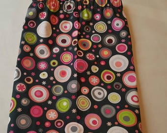 Multi-color bubbles skirt Toddlers 1T -4T