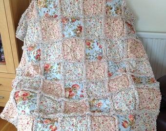 "A Maze of Flowers Quilt 44"" x 56"""