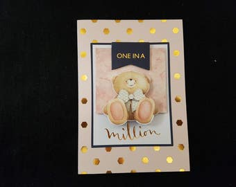 Handmade Forever Friends Greeting Card